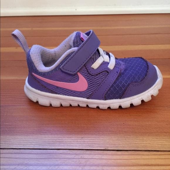 Toddler Girl Purple Nike Flex Sneaker